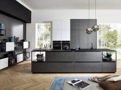 Cocina Moderna Ferro / Soft Lack 1